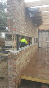 Floating brick work job in Preston